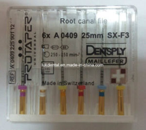 a+ Quality Niti Rotary Protaper Dental Files (Engine use) pictures & photos