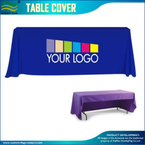 Heat Transfer Full Color Printed Table Throw for Events pictures & photos