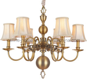 Classical Brass Chandelier Lighting (SL2078-6) pictures & photos
