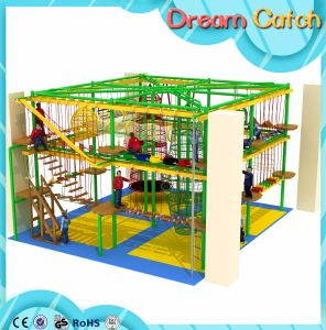 New Design Indoor Playground Children Rope Course Climbing Net pictures & photos