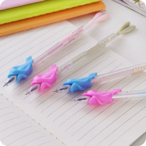 New Design Silicone Pencil Grips for Children Writing Post Correction pictures & photos
