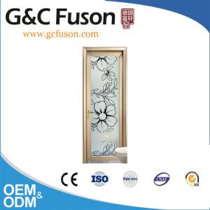 Waterproof Aluminum Casement Door with Double Tempered Glass pictures & photos