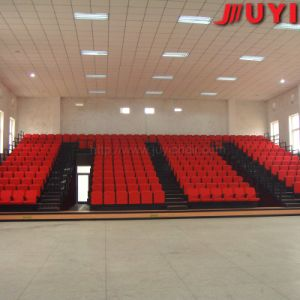 Jy-769 Hot Selling Plastic Portable Sports Place Telescopic Seating System Telescopic Folding Chairs pictures & photos