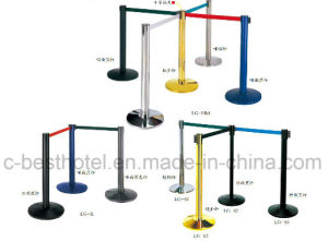 Newly Design Hotel Railing Belt-Metal-Crowd-Control Stand pictures & photos