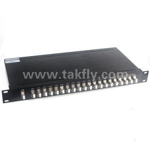 40CH LC/Upc DWDM Mux/Demux Athermal AWG Aawg pictures & photos