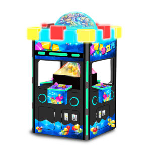 2017 Newest Magic Cube Arcade Game Machine with Holographic Technique pictures & photos