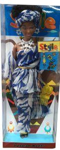 Black African Dolls Black Skin Dolls Toy 12.5 Inch Dark Skin African Girl Doll pictures & photos