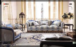Big Size Seating Room Comfortable Sofa Set S6950 pictures & photos