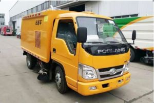 Futian 2600 Wheelbase Sweeping Vehicle with High Quality pictures & photos