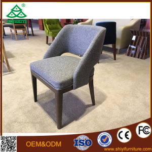 High Quality Fabric Wooden Chairs for Sale pictures & photos