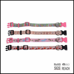 Personalized Strong Safety Fashion Pattern TPU Adjustable Pet Dog Collar pictures & photos