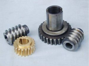 Custom Made Brass Gear and Worm Wheel Gear Assembly for Gearbox pictures & photos