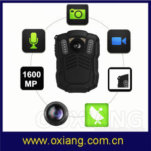 4G HD 1296p IP68 Police Body Worn Camera for Small Docking Station with Infrared Night Vision pictures & photos