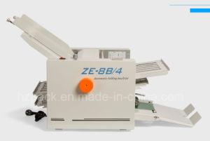 Automatic Folding Machine Paper/Auto Folder Specification Ze-8b/4 pictures & photos