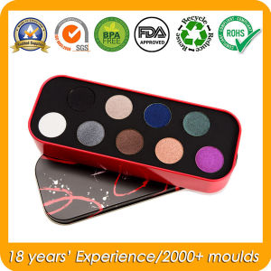 Cosmetic Tin Box for Eye Shadow/Blusher/Fake Tan/Foundation pictures & photos