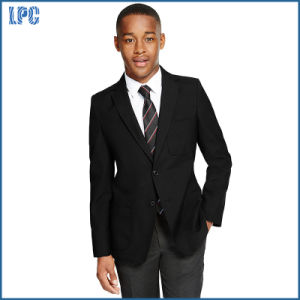 Senior Boys′ Crease-Resistant Blazer with Triple Action pictures & photos