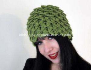 OEM Custom Hand Crochet Crocodile Animal Hat Factory pictures & photos