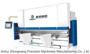 Wc67k 100t/3200 Torsion Axis Servo CNC Bending Machine