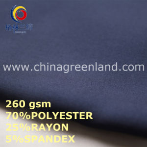 Polyester Rayon Spandex Fabric for Clothes Textile (GLLML444) pictures & photos