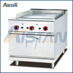 Gh986A Gas Griddle with Gas Oven (1/3 Grooved) of Hotel Equipment pictures & photos