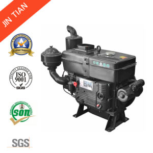 Powerful 25HP Electric Start Single Cylinder Diesel Engine (Jt28) pictures & photos