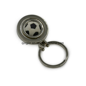 Zinc Alloy Metal Football Keychain Key Holder Key Ring pictures & photos