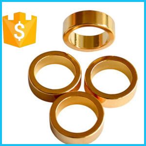 Customized Golden D30*D25*3mm N52 Ring Neodymium Magnet pictures & photos