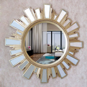 Decorative Round Shape Silver Mirror pictures & photos