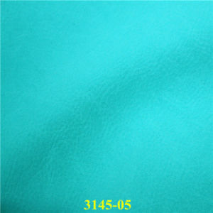 Fashionable Matte PU Coated Leather for Lady`S Footwear Fabrics pictures & photos