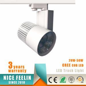 20-50W High Lumen COB LED Spot Light/LED Track Spotlight/LED Track Lighting Fixtures pictures & photos