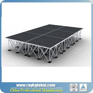 Plywood Stage Folding Stage Platforms Folding Stage Manufacturers pictures & photos