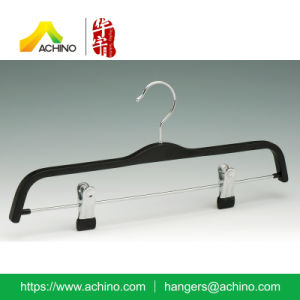 Wooden Laminated Pant Hanger with Clips (WLPSH100) pictures & photos