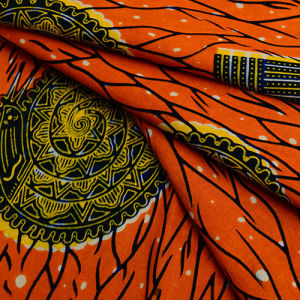 African Cotton Printing Real Wax Fabric pictures & photos