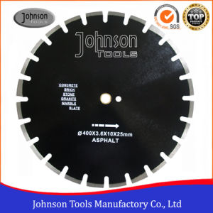 Asphalt Cutting: 400mm Diamond Laser Welded Saw Blade for Asphalt pictures & photos