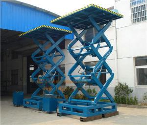 China Stationary Hydraulic Scissor Goods Lift (SJG1-6) pictures & photos