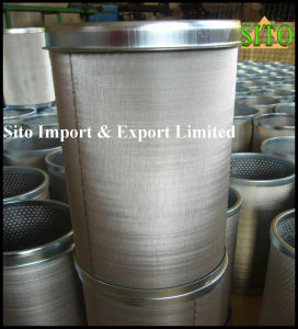 Stainless Steel 316 Wire Mesh Water/Gas/Oil Cylinder Filter pictures & photos