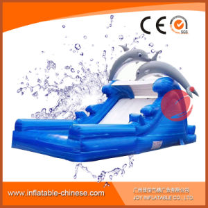 Commercial Inflatable Dolphin Water Slide for Kids T11-204 pictures & photos