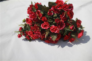 Cheap Artificial Rose Flowers for Home Decoration pictures & photos