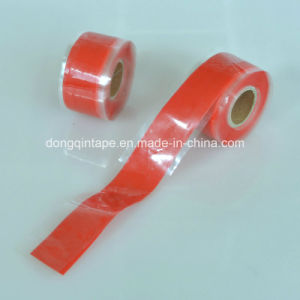 China Manufacturer Clear Silicone Fusing Pipe Plumbers Electritions Leak Repair Tape pictures & photos