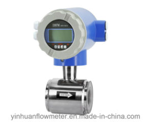 Clamp-on Integrated Electromagnetic Flowmeter pictures & photos