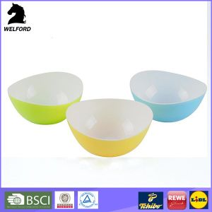 Double Injection Salad Bowl Colorful Bowl pictures & photos