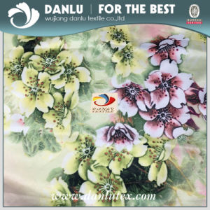 Digital Printed Satin Fabric for Shawl and Women Dress pictures & photos