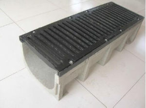Side Slot Linear U Type Polymer Drainage Channel pictures & photos