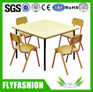 Double School Customized Classroom Kid Desk and Chair pictures & photos