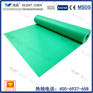 3mm Green EVA Underlay Without Film for Bamboo Laminate Flooring pictures & photos
