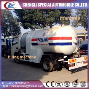Cheap Small Dongfeng LPG Dispensing GLP Truck for Africa pictures & photos