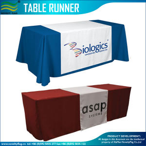Logo Print Polyester Table Skirting (M-NF05F09323) pictures & photos