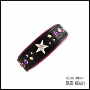 Pet Supply Products Handmade Personalized Best Leather Dog Training Collars pictures & photos