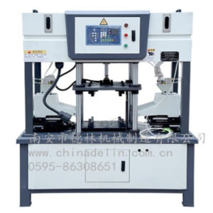 Delin Machinery Hot Sale Automatic Double Head Core Shooting Machine Dl-400-B pictures & photos