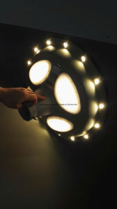 UFO Solar Garden/ Street Lamp Light pictures & photos